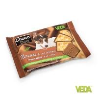 «CHOCO DOG печенье в молочном шоколаде» - Лакомство для собак