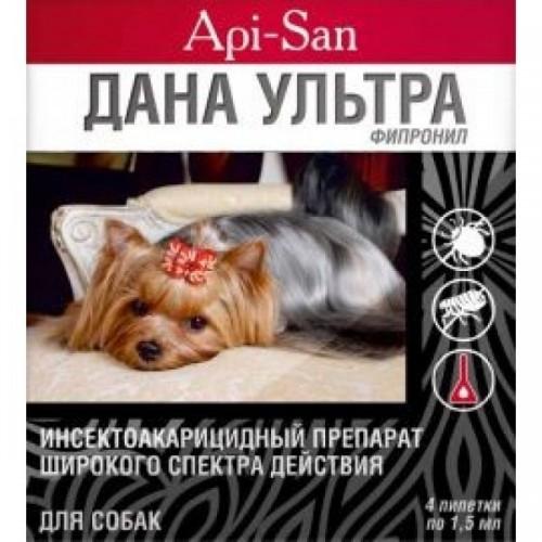 Дана УЛЬТРА капли для собак, 1 уп.