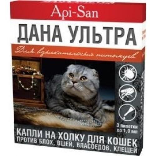 Дана ультра нео для для кошек и котят, 1 уп.
