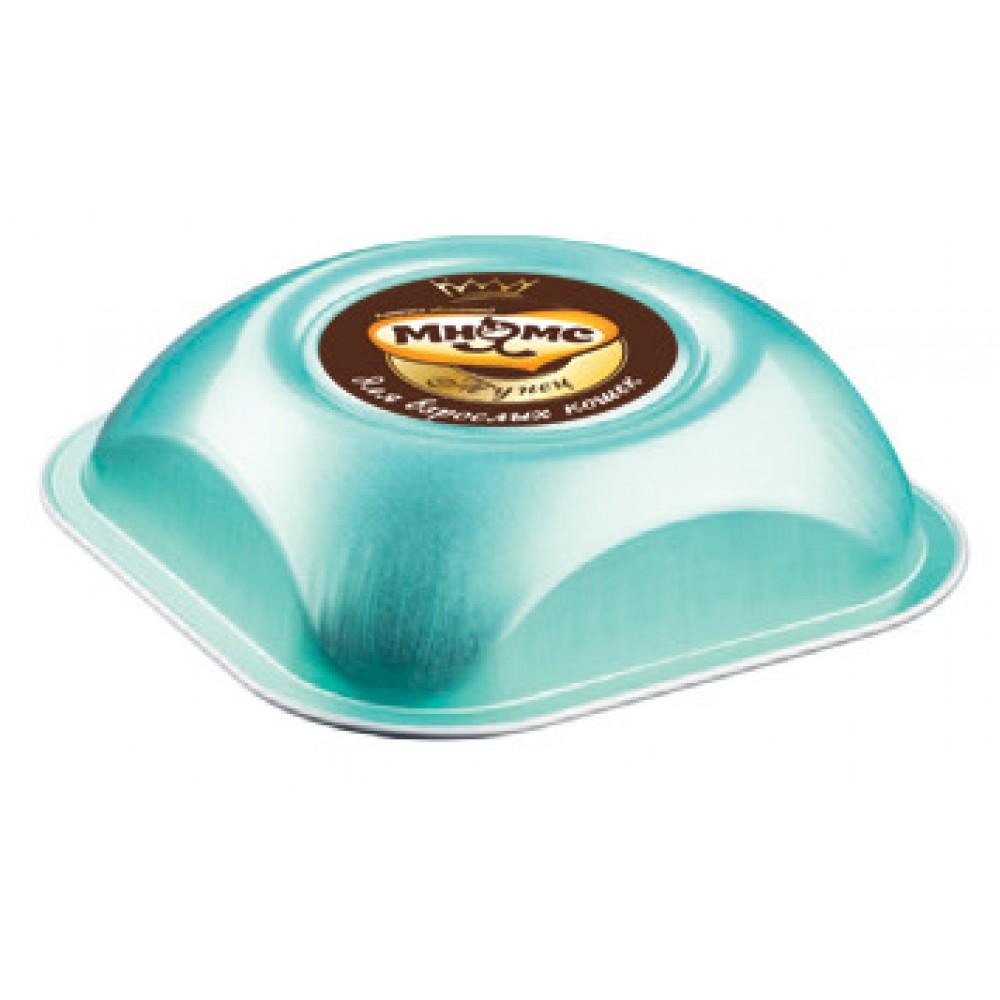 Мнямс Деликатес - Нежные кусочки тунца и креветок в соусе для взрослых кошек