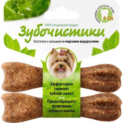 Деревенские лакомства, Зубочистки косточка для собак с кальцием
