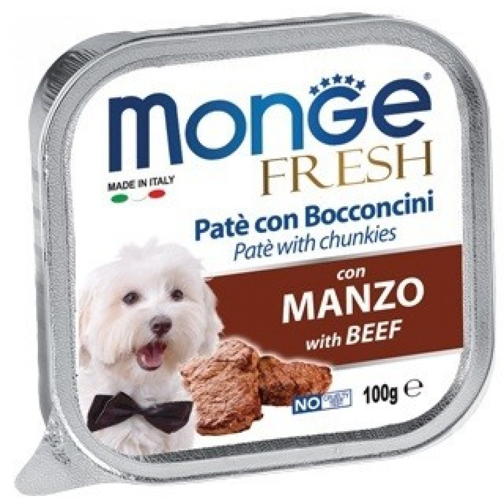 Monge Dog Fresh - Консервы для собак из говядины