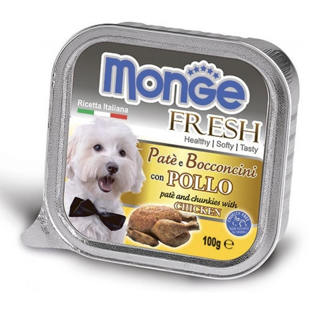 Monge Dog Fresh - Консервы для собак из курицы