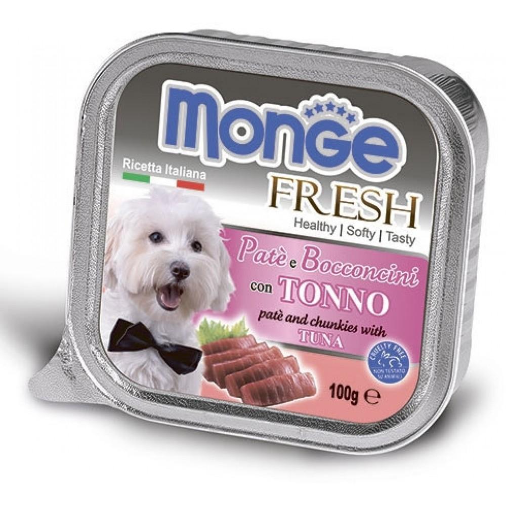 Monge Dog Fresh - Консервы для собак из тунца