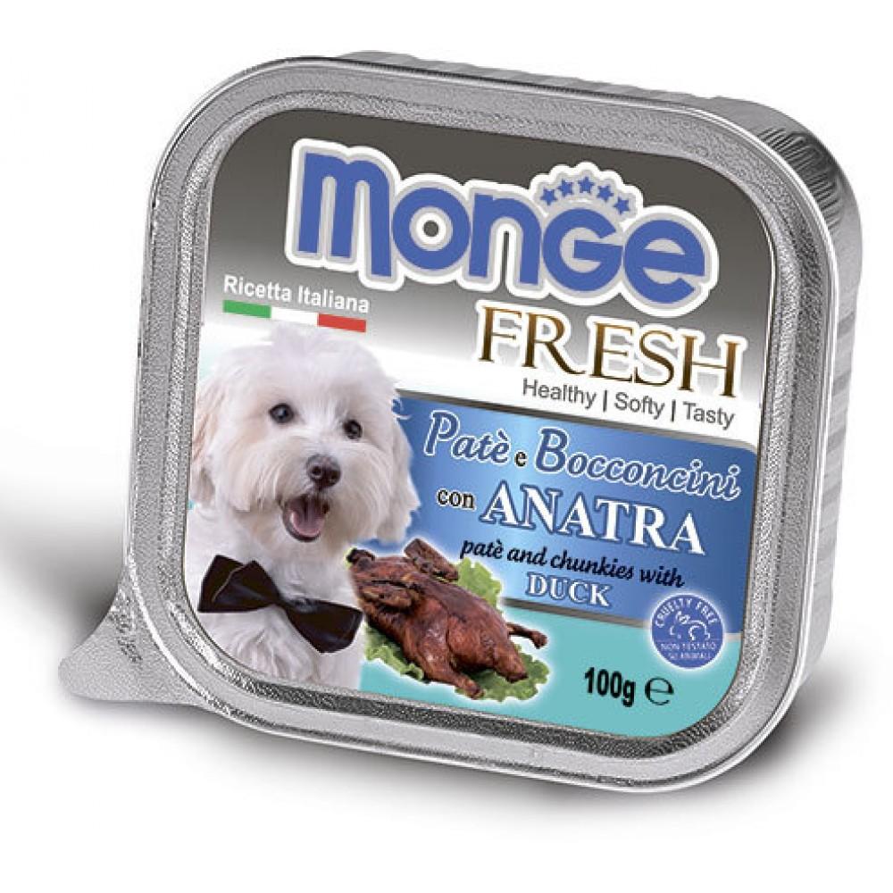 Monge Dog Fresh - Консервы для собак из утки
