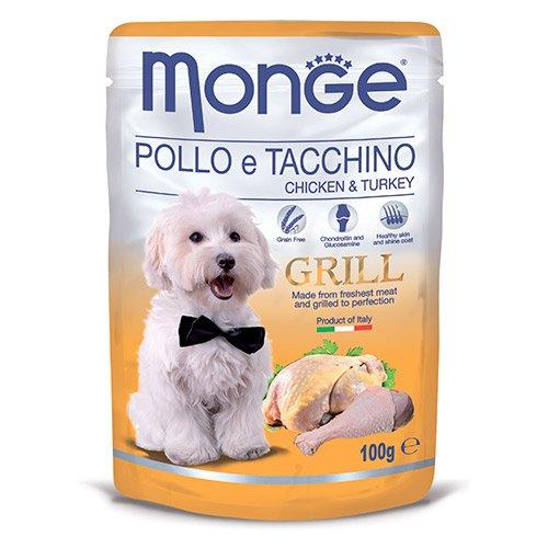 Dog Grill Pouch - Паучи для собак с курицей и индейкой