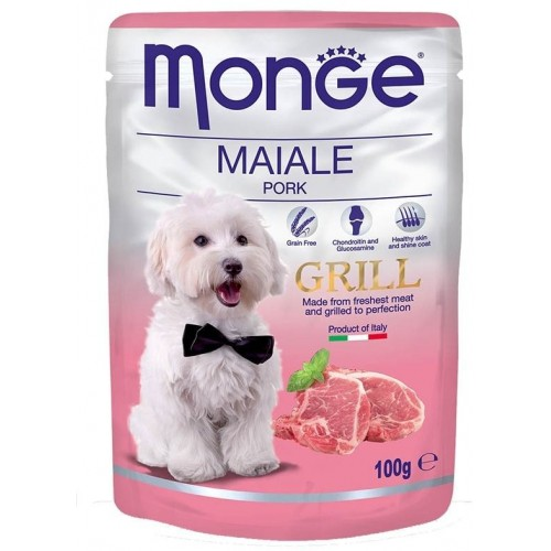 Dog Grill Pouch - Паучи для собак со свининой
