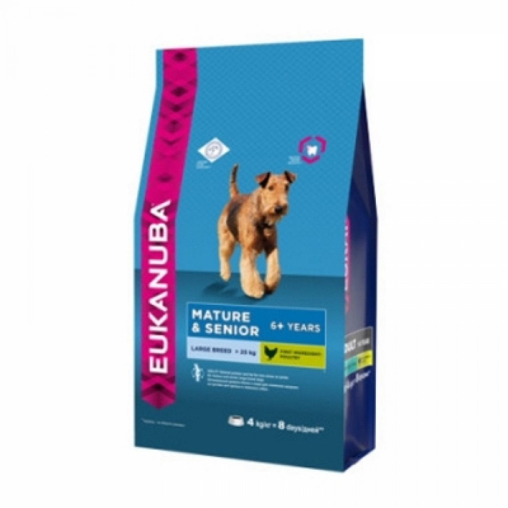 Eukanuba Dog - Корм для пожилых собак крупных пород