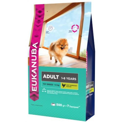 Dog - Корм для взрослых собак миниатюрных пород