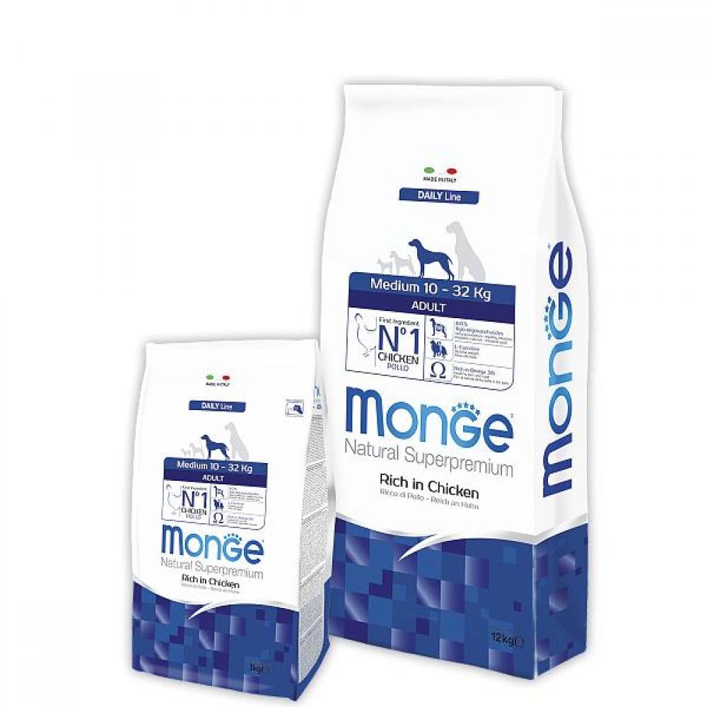 Monge Dog Medium - Корм для взрослых собак средних пород