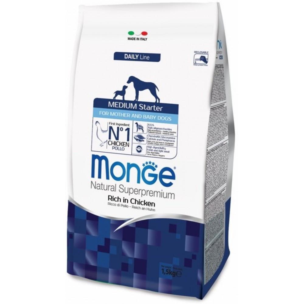 Monge Dog Medium Starter - Корм для щенков средних пород