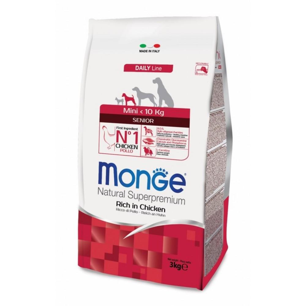 Monge Monge Dog Mini Sonior - Корм для пожилых собак мелких пород