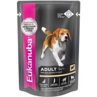 Dog - Паучи корм для собак с ягненком в соусе