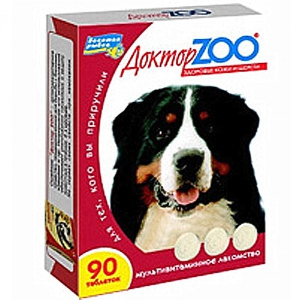 Доктор Zoo Доктор ZOO ЗДОРОВЬЕ КОЖИ И ШЕРСТИ. Мультивитаминное лакомство для собак.