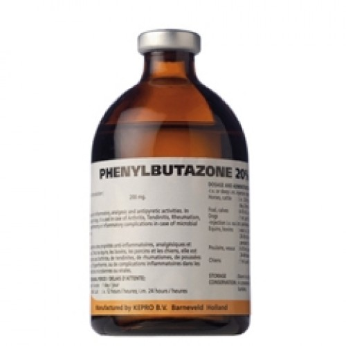 Фенилбутазон (Phenylbutazone) раствор для инъекций, фл. 100 мл
