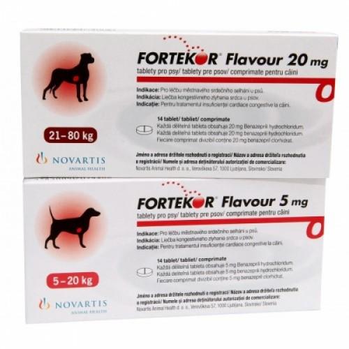 Фортекор №14 - Таблетки для лечения сердечной недостаточности у собак