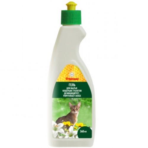 Гель для мытья кошачьих туалетов Пчелодар, фл. 500мл