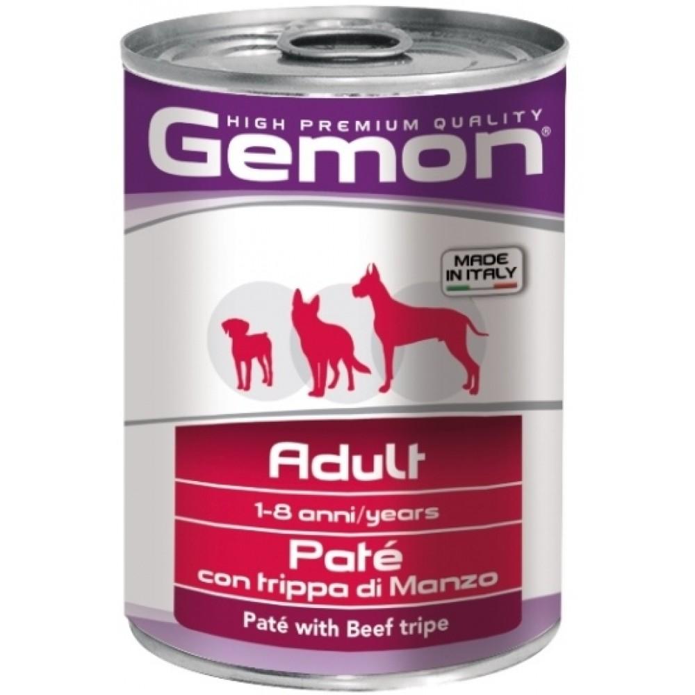 Monge Gemon Dog - Консервы для собак паштет с говяжьим рубцом