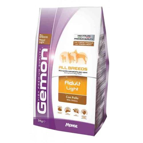 Gemon Dog Light - Низкокалорийный корм для взрослых собак всех пород
