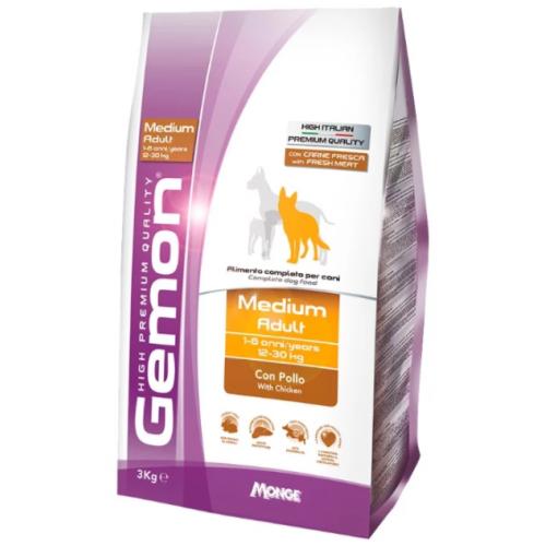 Gemon Dog Medium - Корм для взрослых собак средних пород с курицей