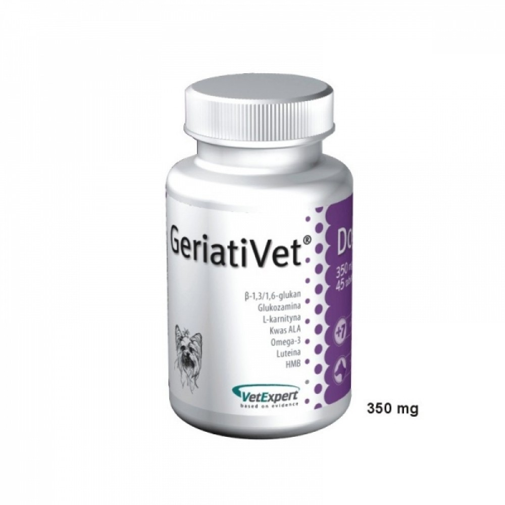 VetExpert GeriatiVet Dog - ГериатиВет для стареющих собак мелких и средних пород старше 7 лет