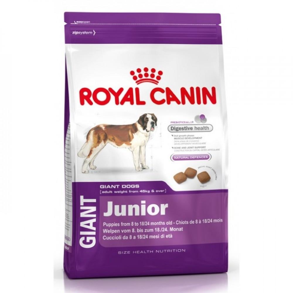 """Royal Canin Giant Junior - Корм для щенков очень крупных размеров """"Роял Канин Джайнт Юниор"""""""