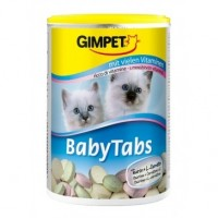 Gimpet baby-tabs, джимпет витамины для котят с таурином, 85 г.