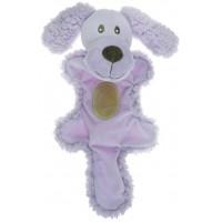 Игрушка для собак - Собачка с хвостом сиреневая
