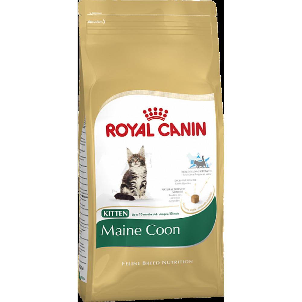 "Royal Canin Kitten Maine Coon - Корм для котят породы мейн-кун ""Роял Канин Киттен"""