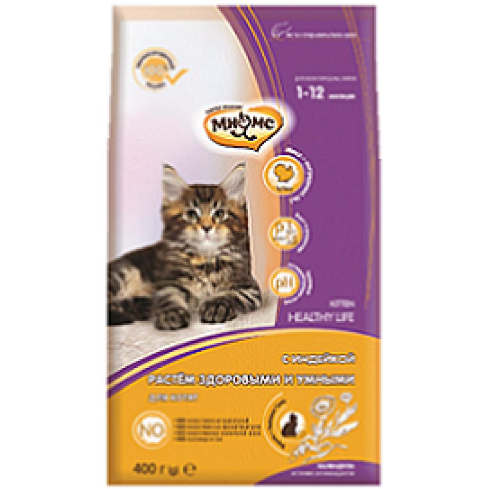 Мнямс Kitten - Сухой корм для котят с индейкой