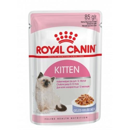 """Kitten - Влажный корм для котят """"Роял Канин Киттен"""" (в желе)"""