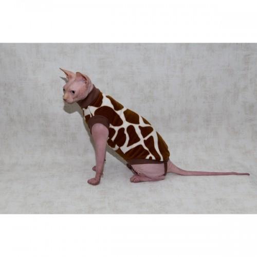 Кофта для кошки Жирафик