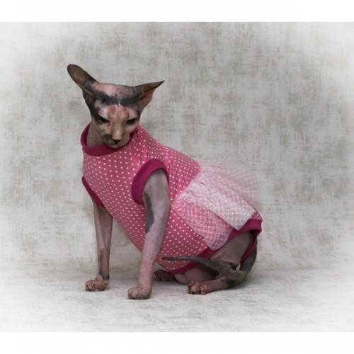 Кофта для кошки Карамелька