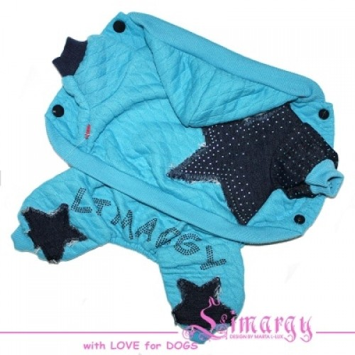 "Комбинезон ""Jeans star"" синий Размер: S"