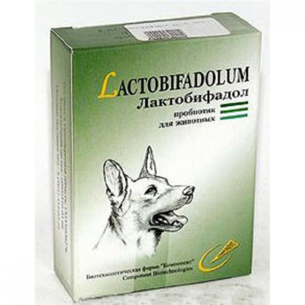 Компонент Лактобифадол для собак, уп. 50 г.