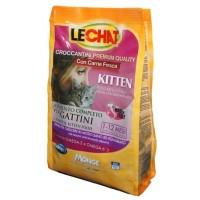 Lechat Cat - Корм для котят со свежей курицей и рисом