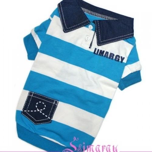 """Майка """"B-Jeans"""" синяя Размер: XS"""