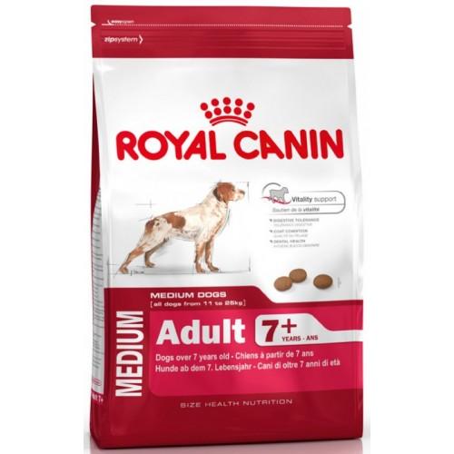 """Medium Adult 7+ Корм для возрастных собак """"Роял Канин Медиум Эдалт 7+"""""""