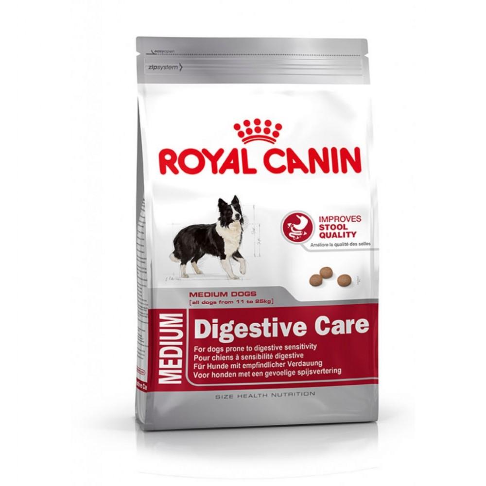 """Royal Canin Medium Digestive Care - Корм для взрослых собак с чувствительным пищеварением """"Роял Канин Медиум Дайджестив Кэа"""""""