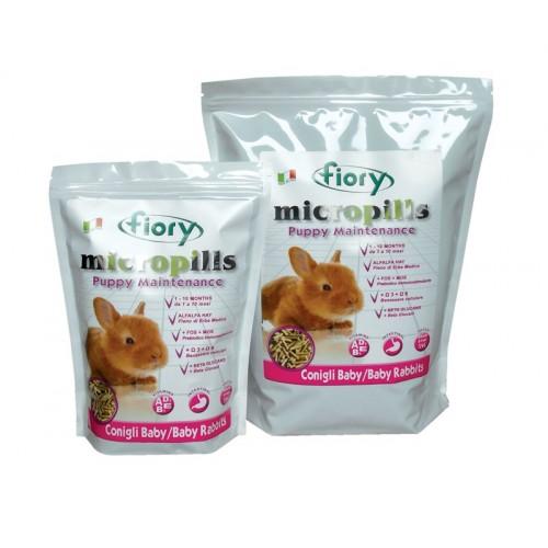 Micropills Baby Rabbits - Корм для крольчат 1-10 мес