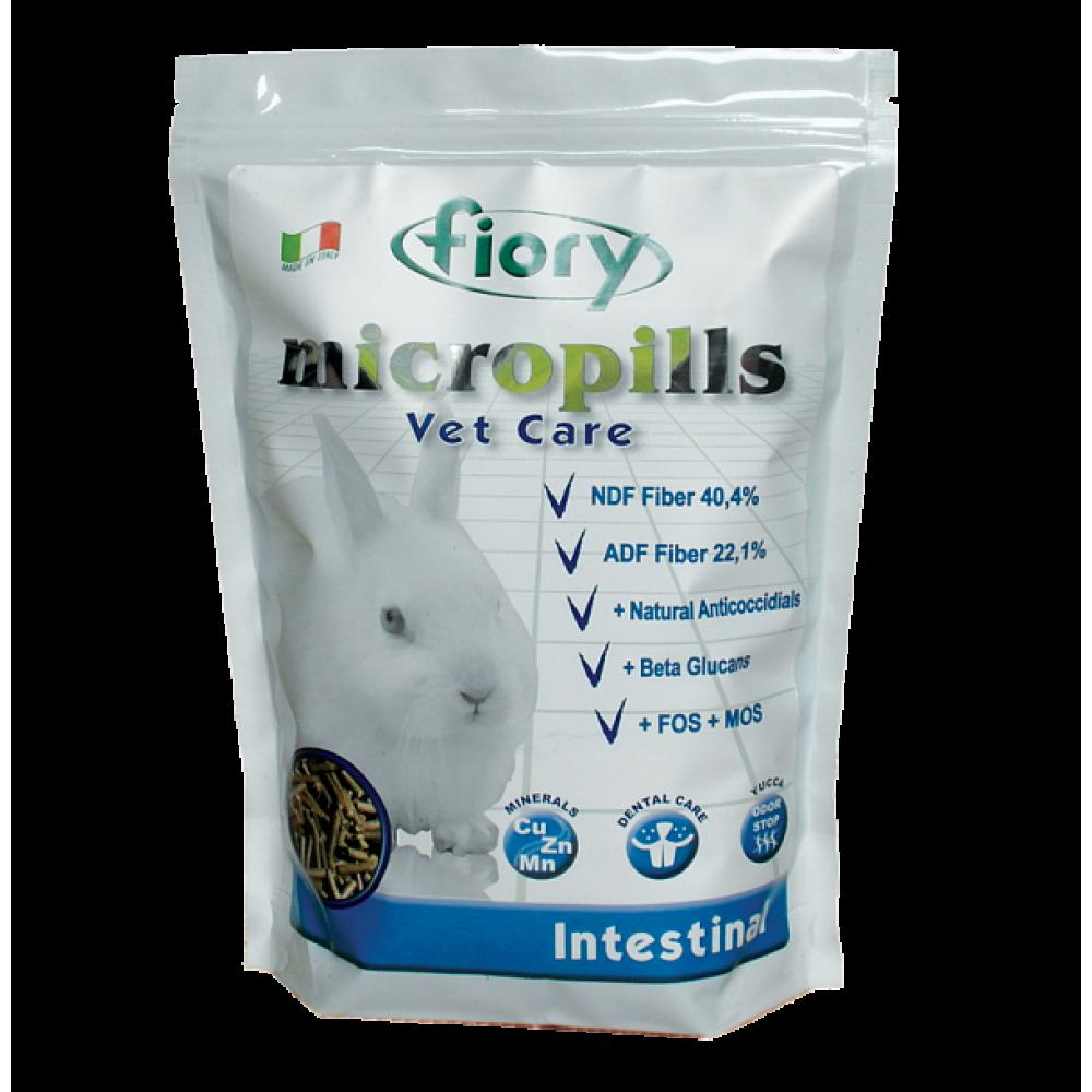 Fiory Micropills Vet Care Intestinal - Корм для карликовых кроликов профилактика кокцидиоза