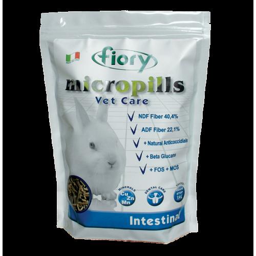 Micropills Vet Care Intestinal - Корм для карликовых кроликов профилактика кокцидиоза