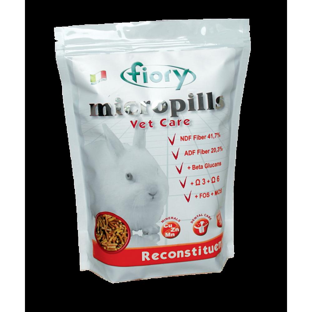 Fiory Micropills Vet Care Reconstituent - Корм для карликовых кроликов восстанавливающий