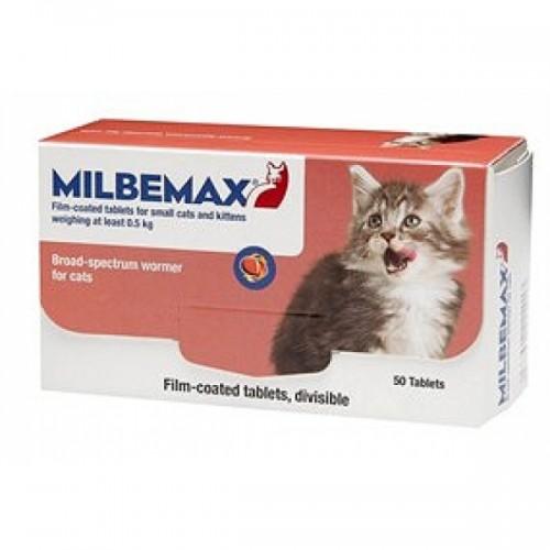 Мильбемакс - Антигельминтик для котят и молодых кошек
