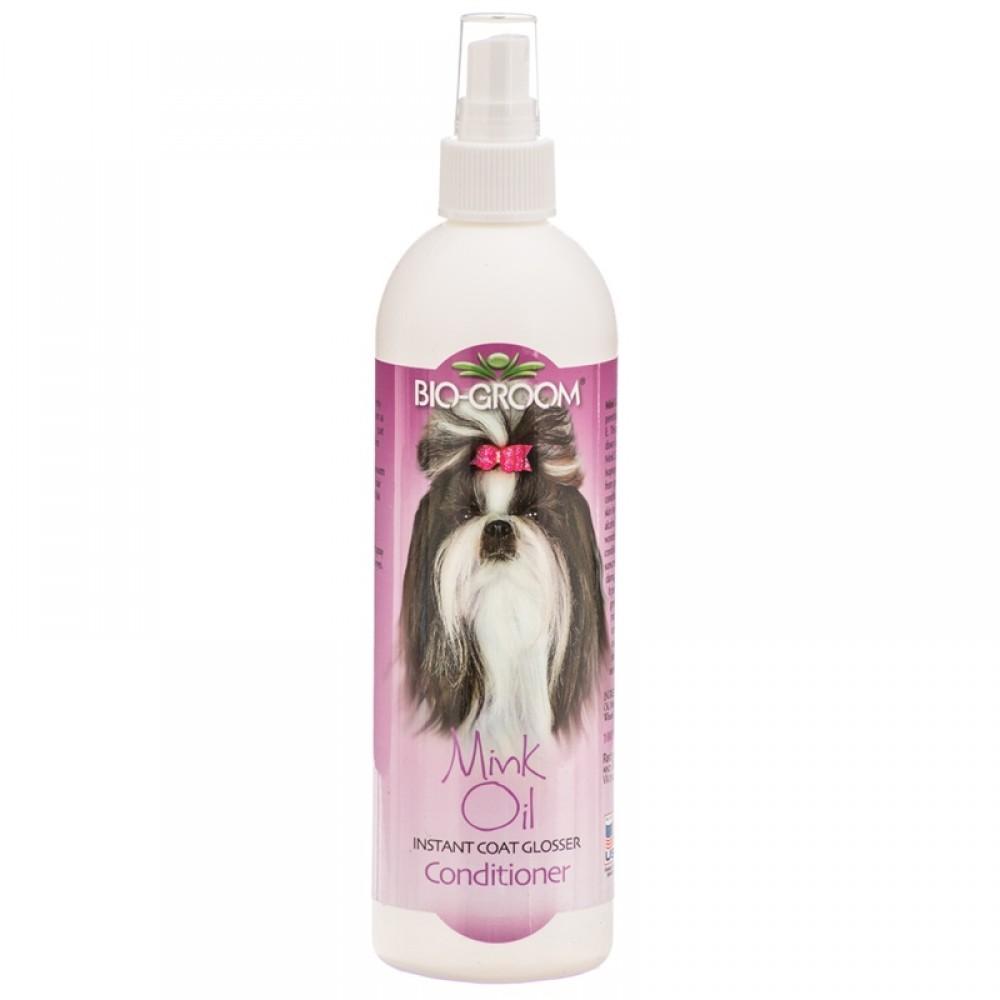 Bio-Groom Mink Oil - Спрей с норковым маслом для блеска и роста шерсти