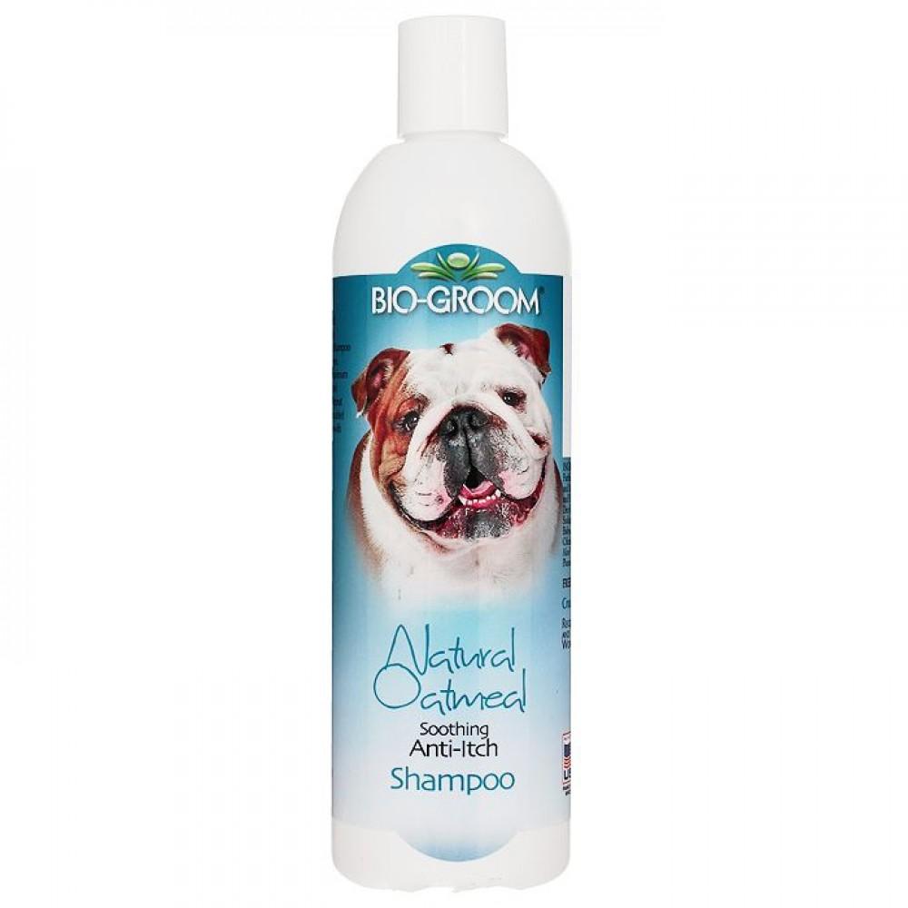 Bio-Groom Natural Oatmeal - Успокаивающий шампунь против зуда и раздражений