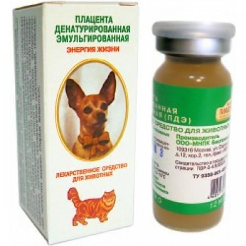 ПДЭ (плацента денатурированная эмульгированная), 1 фл.