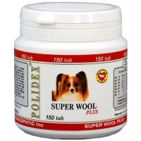 Polidex Super wool plus / Полидекс Супер Вул плюс, 1 б. 150 таб (срок годности 01.02.2021)
