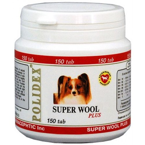 Polidex Super wool plus / Полидекс Супер Вул плюс, 1 б.