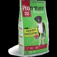 PRONATURE ORIGINAL 22 DOG ADULT ALL BREEDS ПРОНАТЮР для взрослых собак всех пород с ягненком и рисом